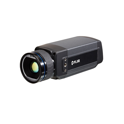 FLIR A615   Typical applications for the FLIR A615 include high-end infrared machine vision that needs temperature measurement, slag detection, food processing, electronics testing, power resistor testing, and automotive applications.