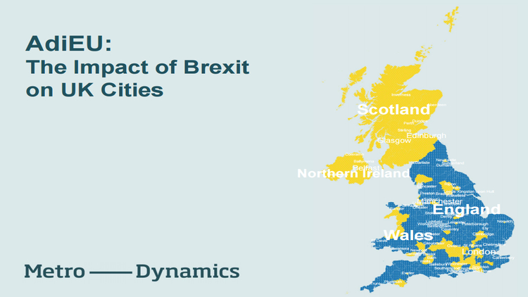 AdiEU: The Impact of Brexit on UK Cities