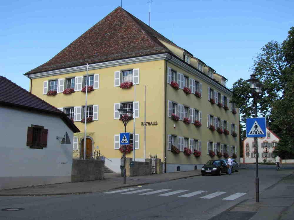Rathaus in Hilzingen