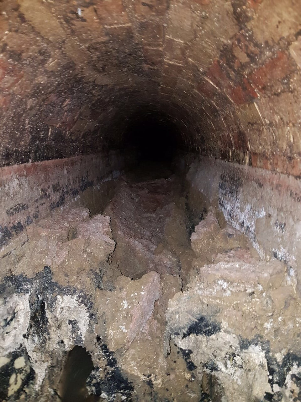 Another view of the Whitechapel fatberg.  Photograph: Thames Water