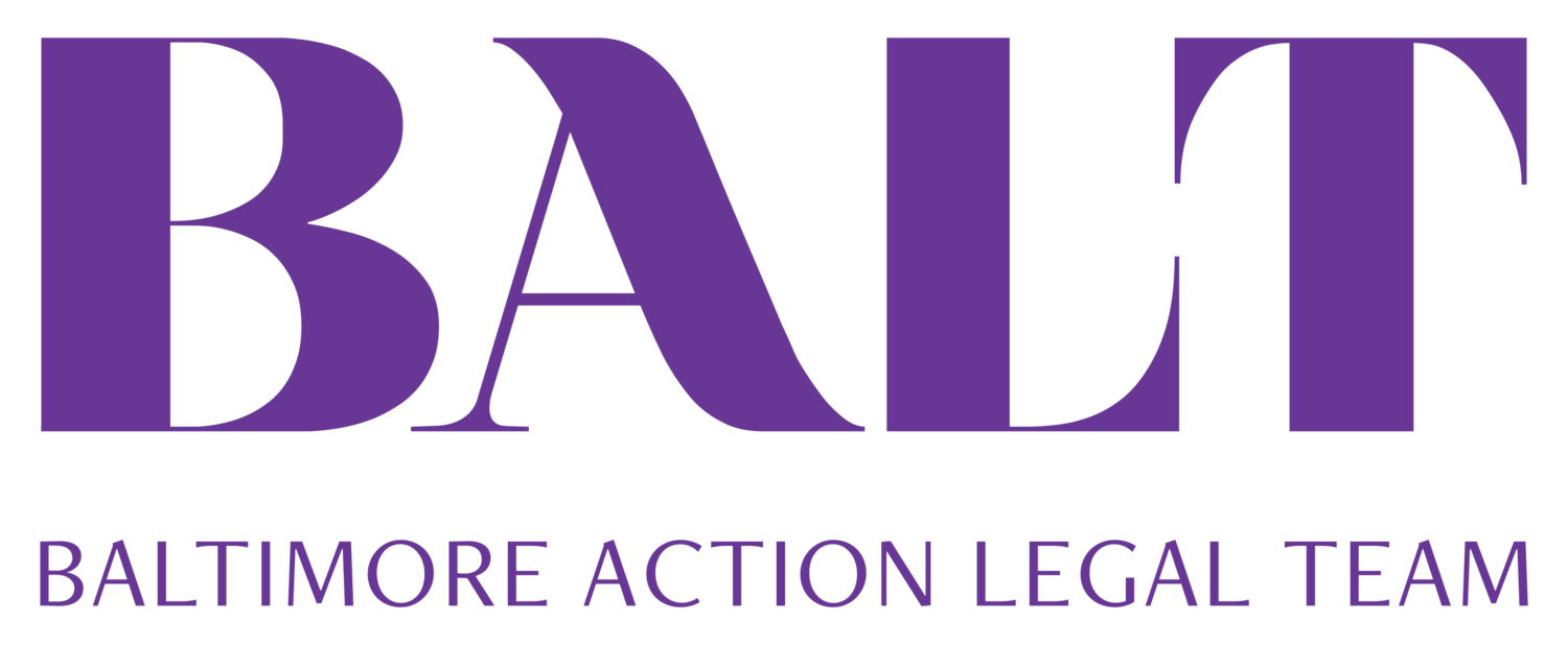 Baltimore Action Legal Team