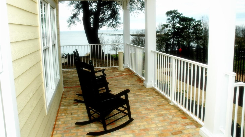 Veranda with Rocking Chairs