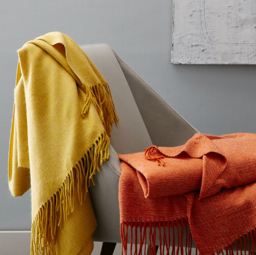 Warmest Throw from West Elm