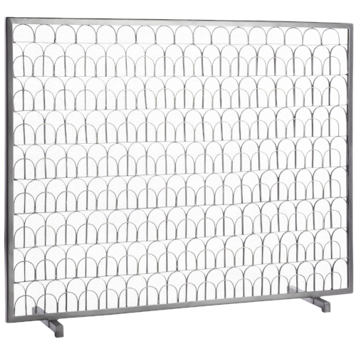 Arch Fireplace Screen from CB2