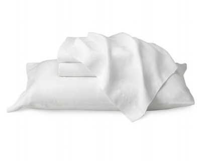 Chambers Washed Linen Sheet Set from Williams-Sonoma