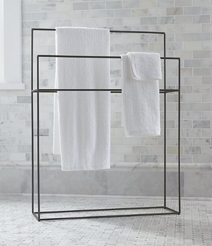 Jackson Standing Towel Rack from Crate & Barrel