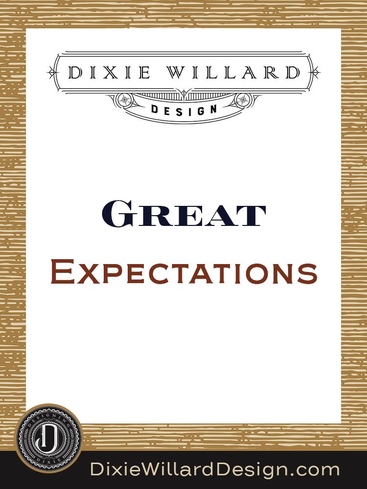 Great Expectations Dixie Willard Design