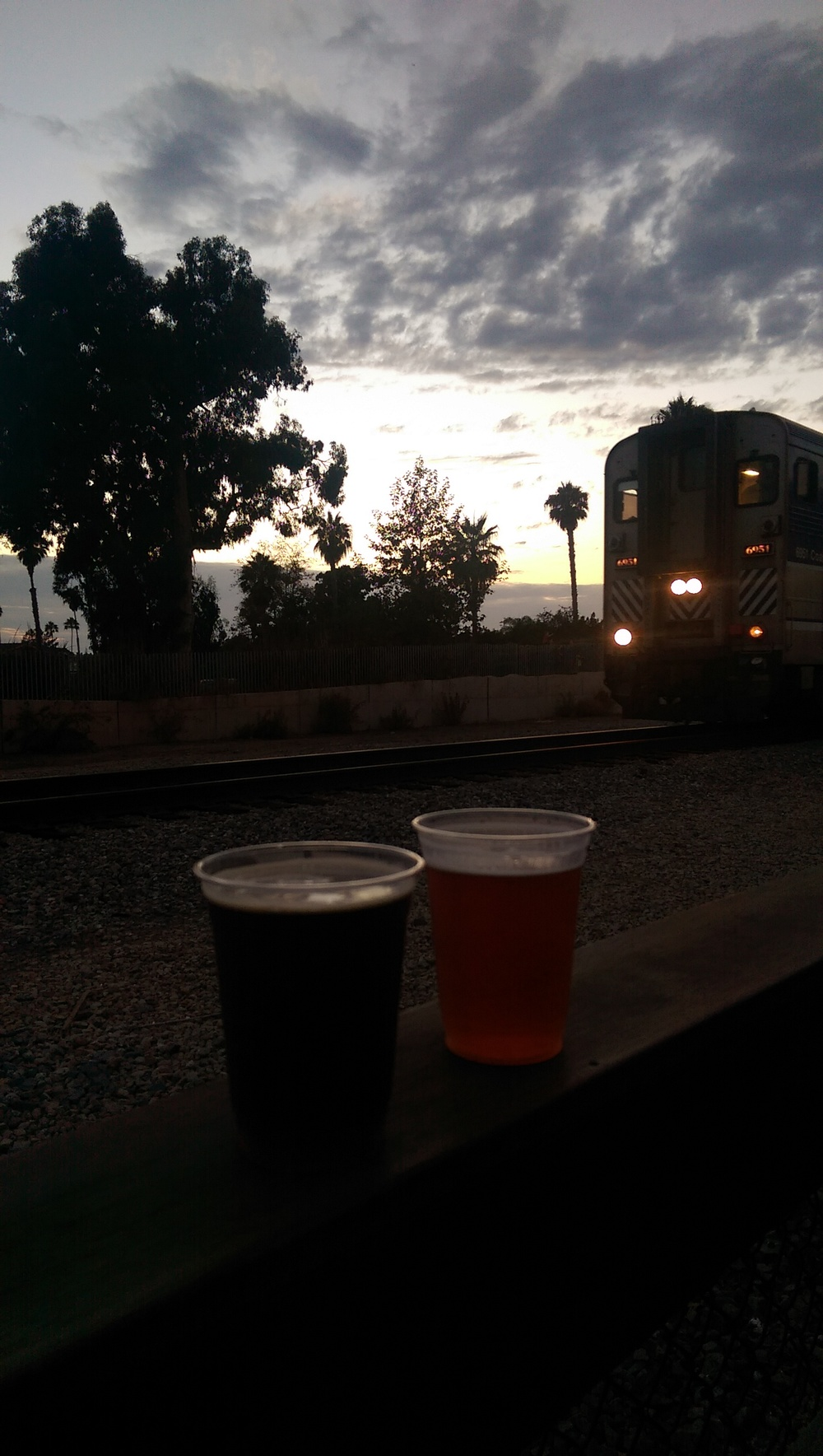 Beers and trains