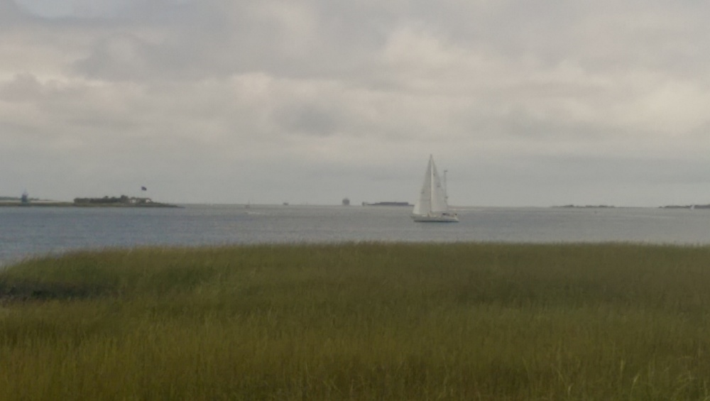 Sailing is very popular in Charleston.