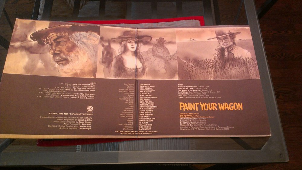 Paint Your Wagon soundtrack courtesy of Sue Clark