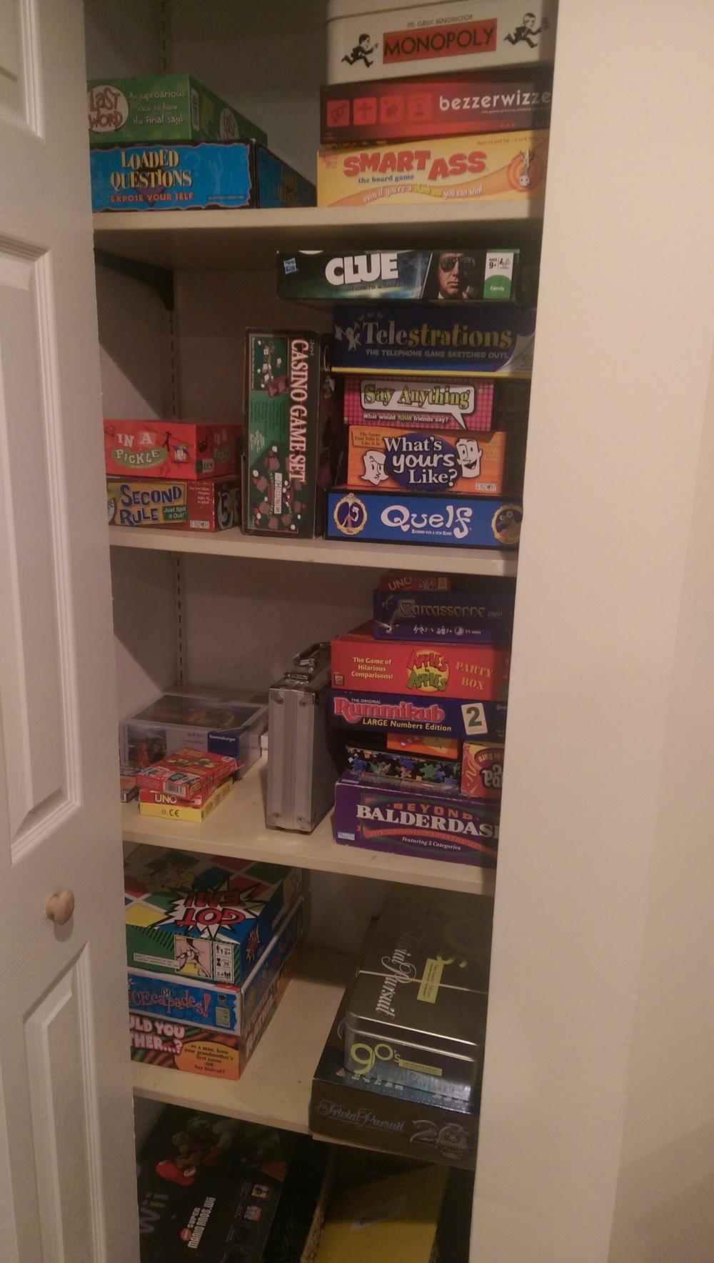 Our game closet