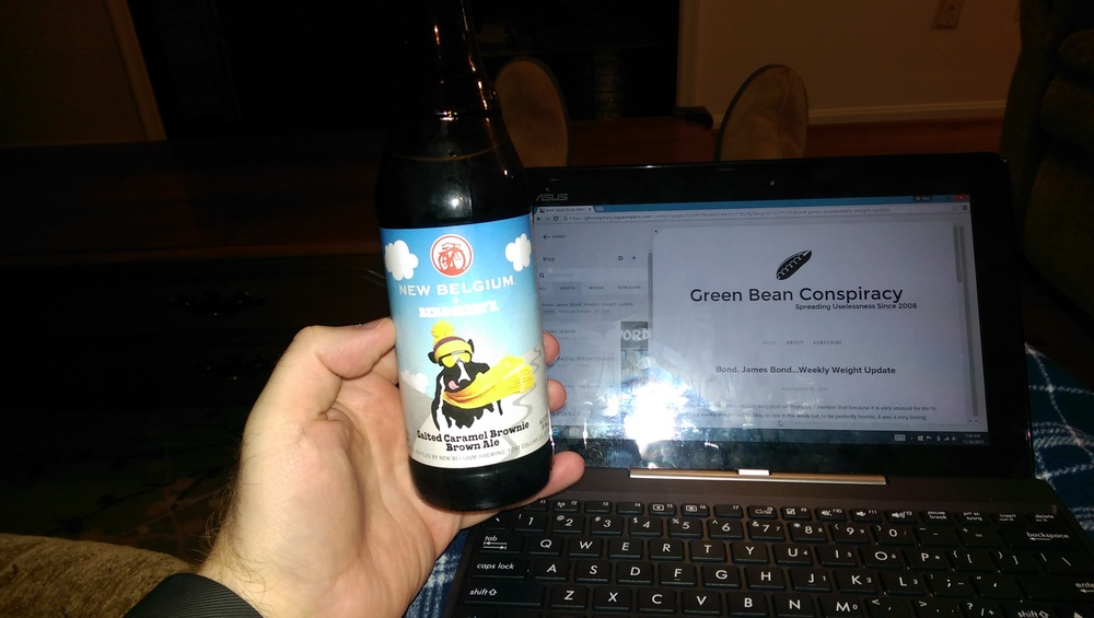 Beer and blogs. A delicious combination.