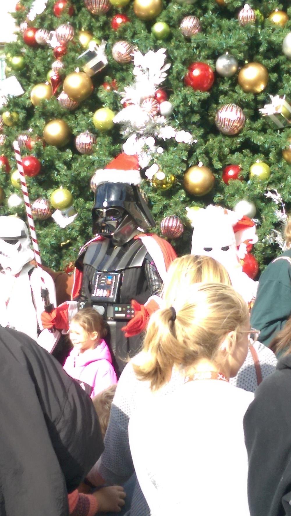 Luke, I am Father Christmas.