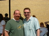 That time I got a picture with Brian O'Halloran (Dante from Clerks) - Fuzzy due to age of picture