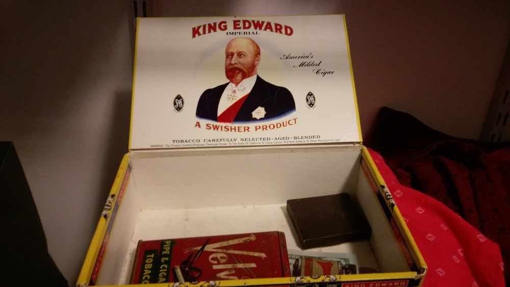 My Pop tobacco box.