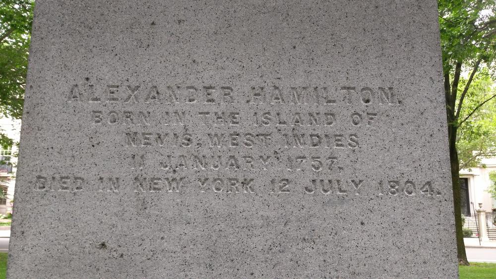 Oh, its Alexander Hamilton