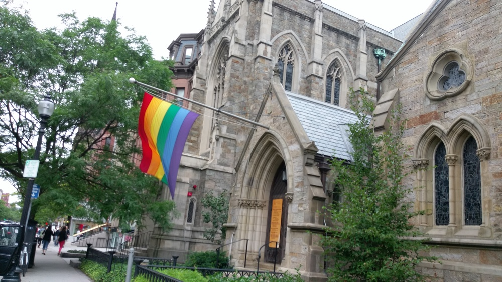 The way a church should act.
