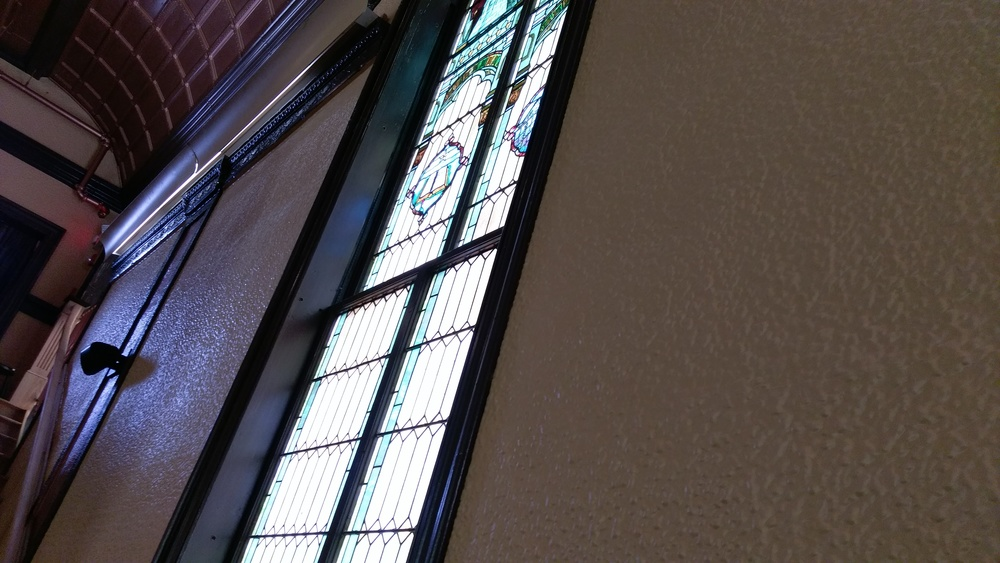 Cool stained glass windows