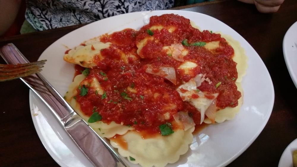 Rizzo's ravioli