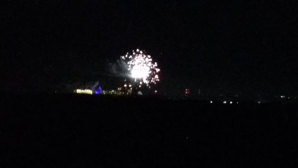 Fireworks from my balcony