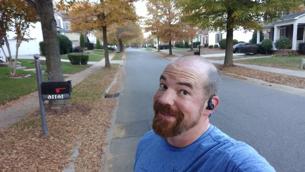 Empty streets for a day-after Thanksgiving run