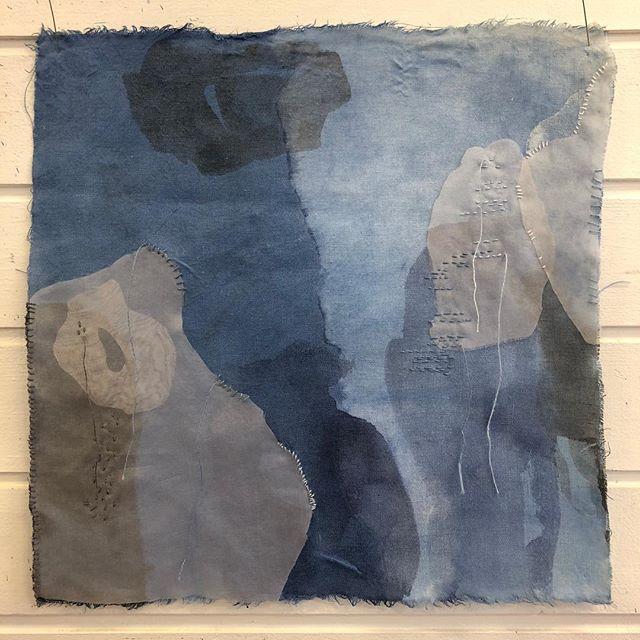 Ett av arbeidene jeg jobber med i serien «I det blå». #theaandenæs