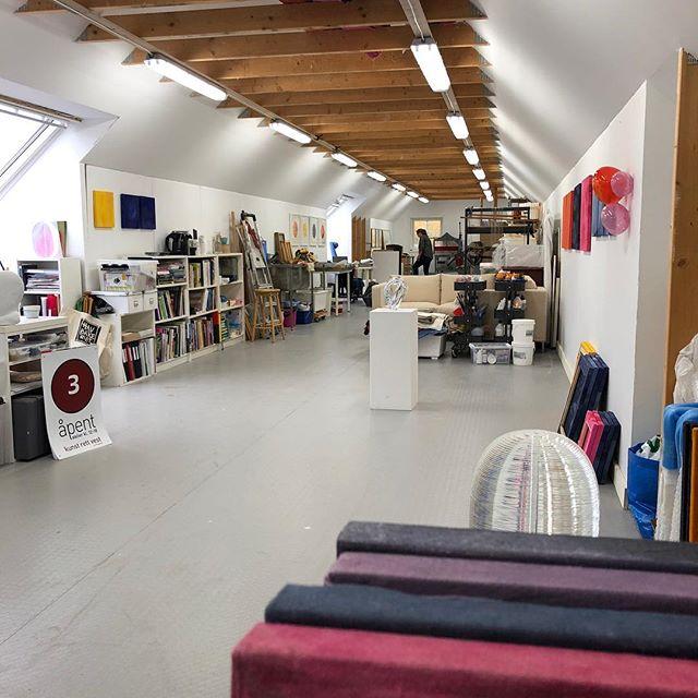 Velkommen innom åpent atelier kommende helg 20.-21. okt kl 12-17, andre etasje i låven, Griniveien 305, ifm Kunst Rett Vest. #theaandenæs #kunstrettvest2018