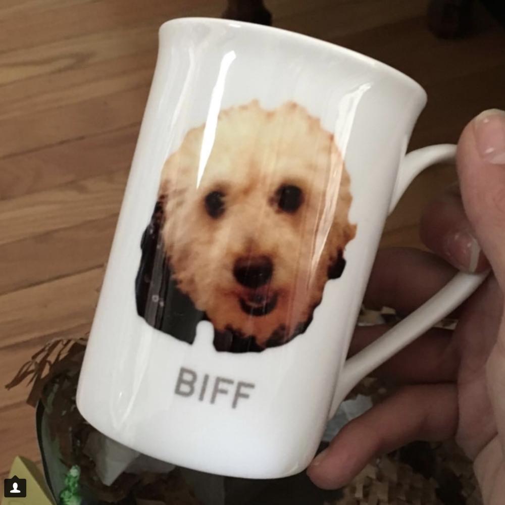 Best Christmas Gift Ever: The Biff mug!!!!!! (Park Slope dog walking ...