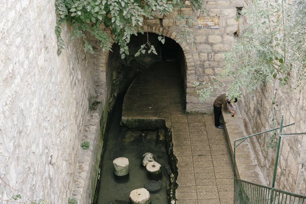 Hezekiah's Tunnel & The Pool of Siloam