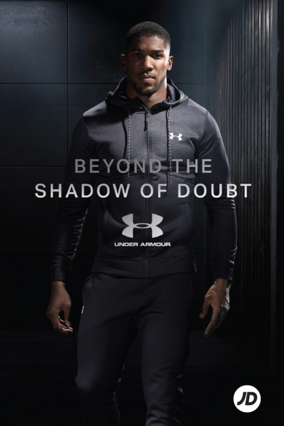 Anthony Joshua for Under Armour