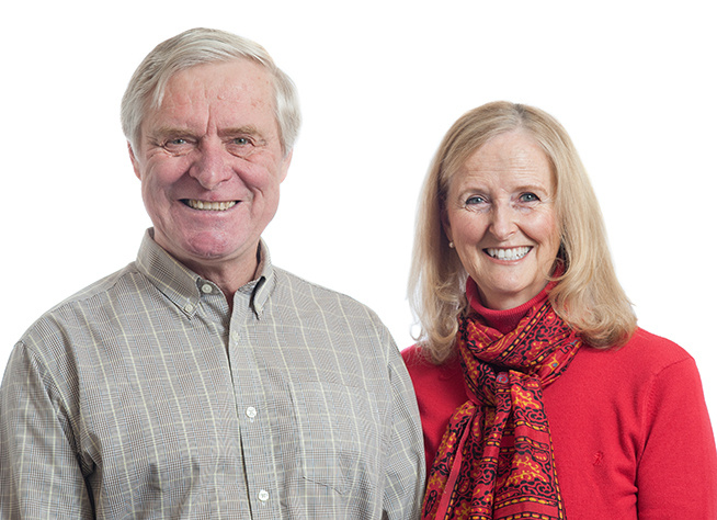 Paul and Beverley Carrick: Founders