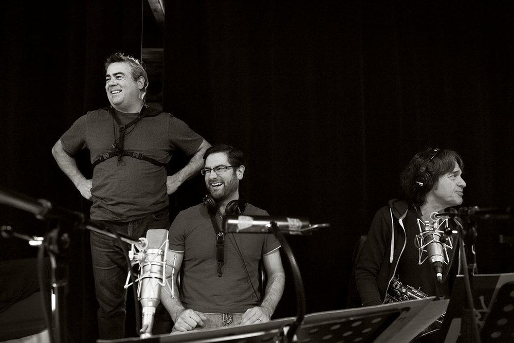 André Leroux, Samuel Blais & Jean-Pierre Zanella