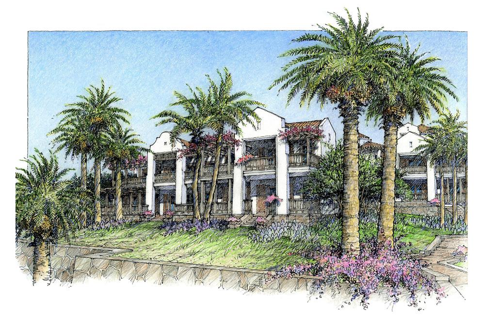 St. Regis hotel BVI. OBM architects