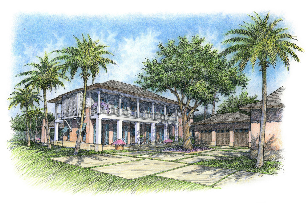 pink house, cma design studio