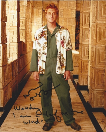 "Alan Tudyk as Wash in Firefly ""I am a leaf on the wind."""