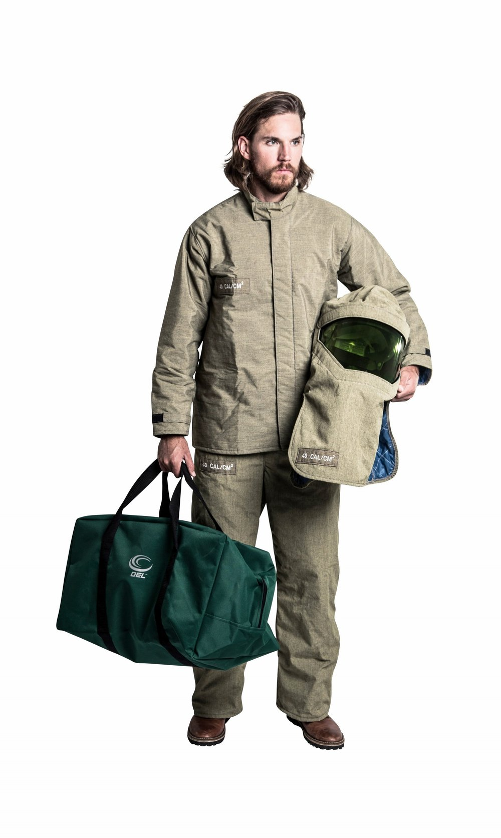 40Cal Jacket & Bib Premium Kit with Switchgear Hood