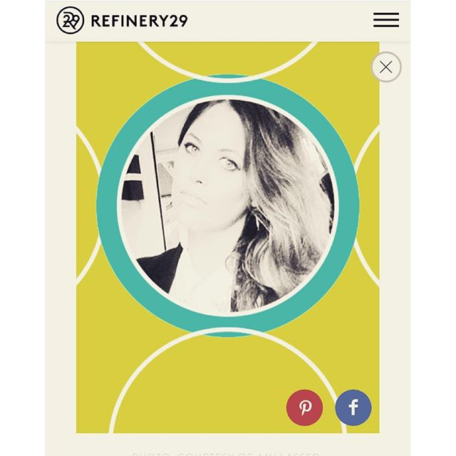 Our L.A. Store Director @amilasser shows us her Fall picks on @refinery29 !! We love you Mimi!!! #amilasser #refinery29 #fallpicks #shopcurve