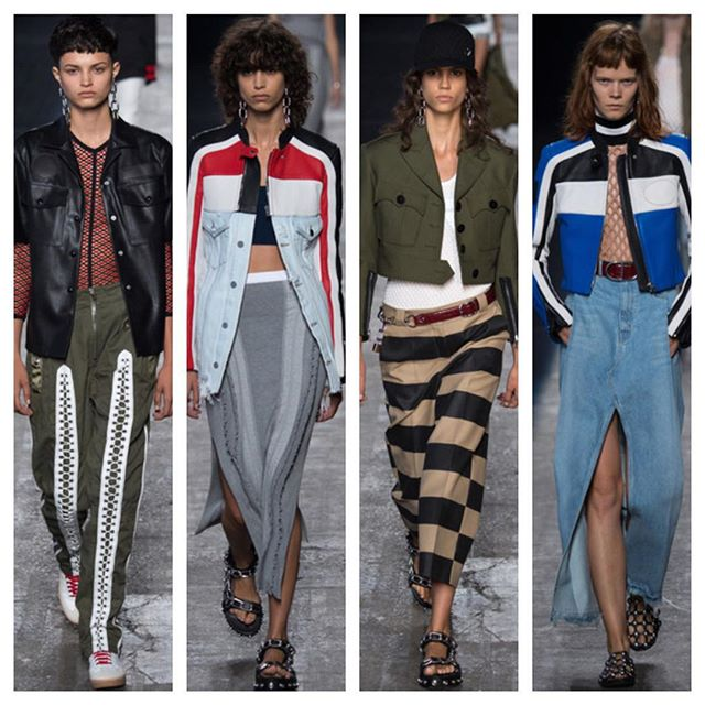 some of our picks at @alexanderwangny !! #followthebuyers #shopcurve #alexanderwang #WANG10 #runway #spring16