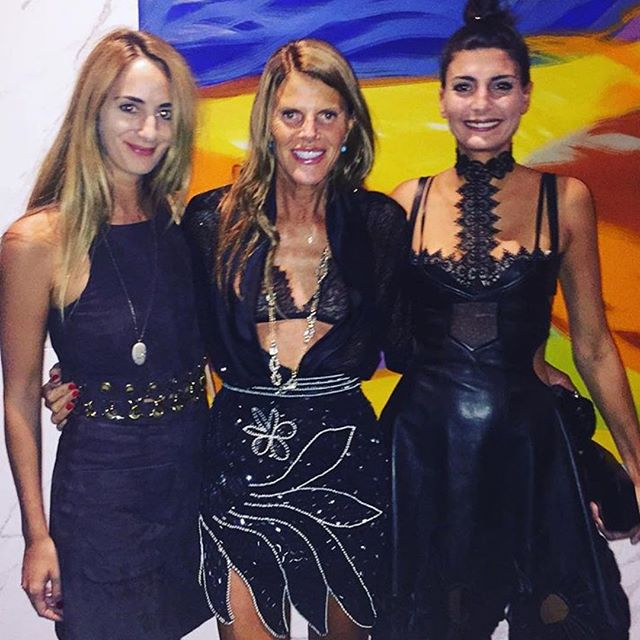 Some of fashion eat FINEST looking impeccable this NYFW. @anna_dello_russo wears @officialrodarte sequin skirt while @bat_gio opts for the insanity that is her @worldmcqueen bra. Best part is, both pieces are available at CURVE NYC / 212.966.3626 #NYFW #ITgirls #annadellarusso #giovannabattaglia #rodarte #alexandermcqueen #styleoverfashion #shopcurve #nyc #getthelook