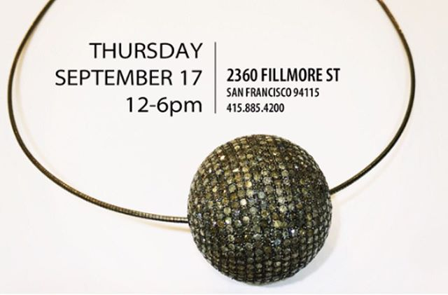 To our SF ladies: don't forget! Tomorrow, Thursday, join @rona_pfeiffer in the store as she showcases her new fall collection! #diamonds #finejewelry #trunkshow #ronapfeiffer #ronapfeifferjewelry #shopcurve #trunkshow #sf