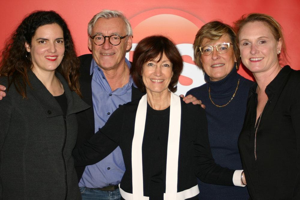 Avec Laurette - Une équipe soudée !