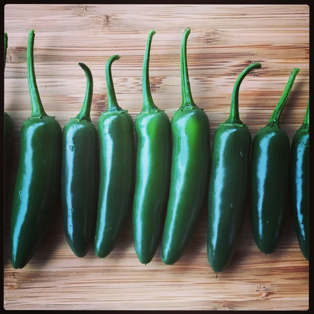Super hot chilis...