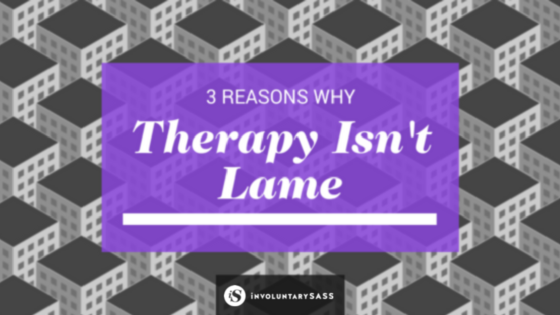 people say therapy is pointless. it's not.
