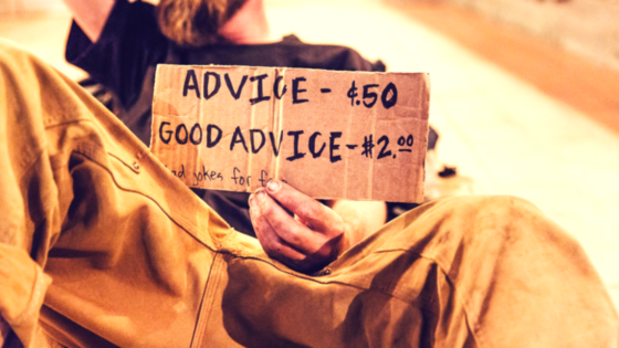good and bad advice