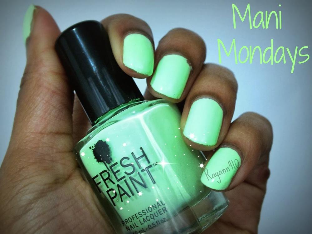 Mani Monday #8: Fresh Paint Nail Polish  Honeydew — Natural Hair ...