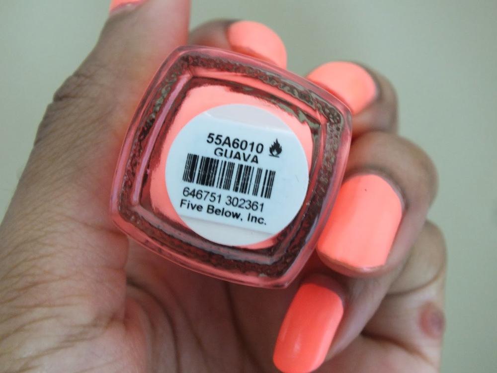 Mani Monday #9: Fresh Paint Nail Polish| Guava — Natural Hair Care ...