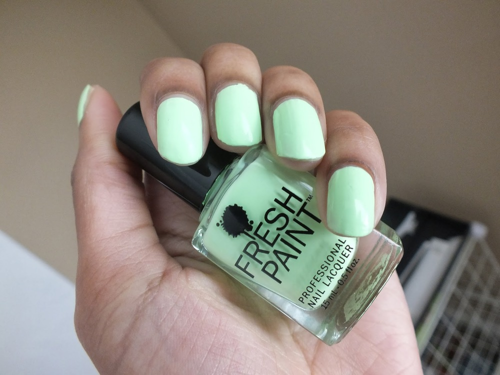 Mani Monday #8: Fresh Paint Nail Polish| Honeydew — Natural Hair ...