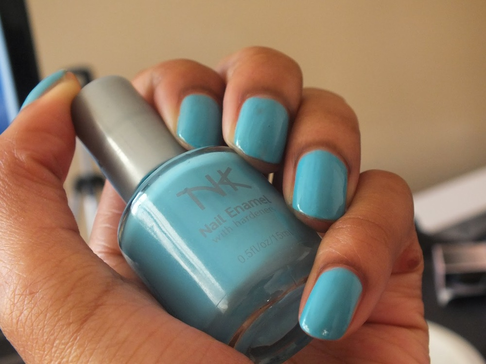 Mani Monday #7| Sky is Blue Nail Polish Review by Nicka K Cosmetics ...