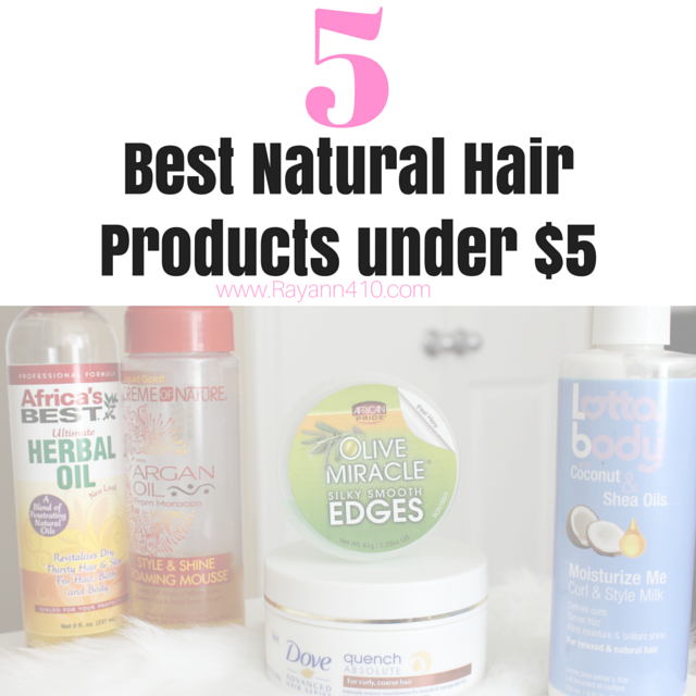 See More Natural Hair Products Under $5