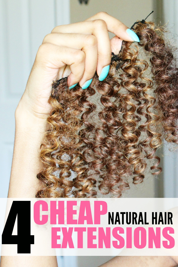 cheap natural curly hair extensions
